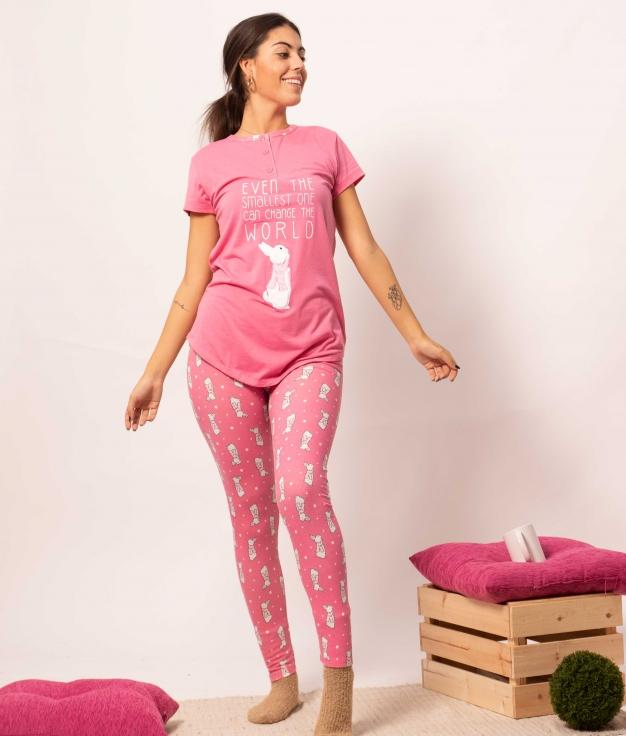 Pijama Sunco - Rosa