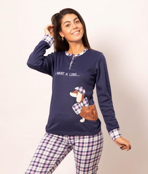 Pijama Holmos - Azul Oscuro