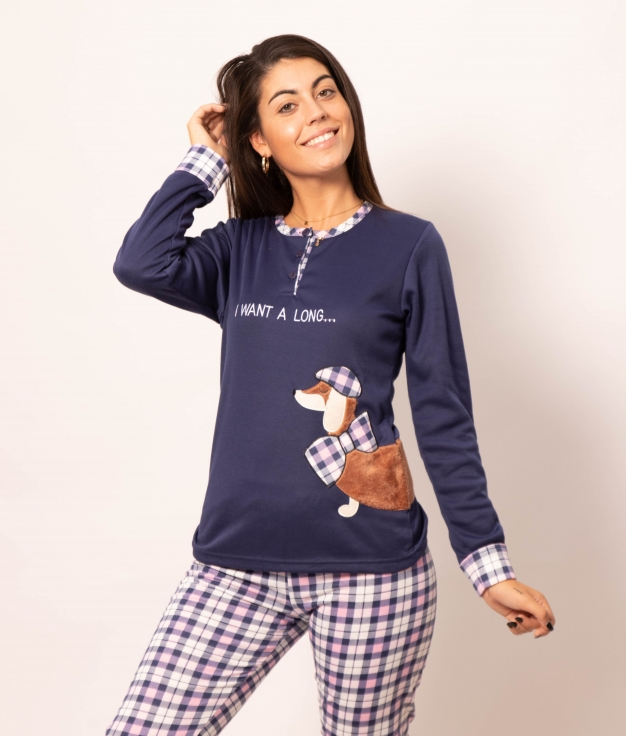 Pyjama Holmos - Bleu Foncé