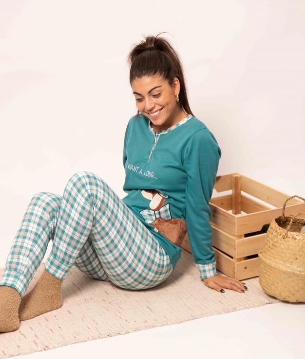 Pyjama Holmos - Turquoise