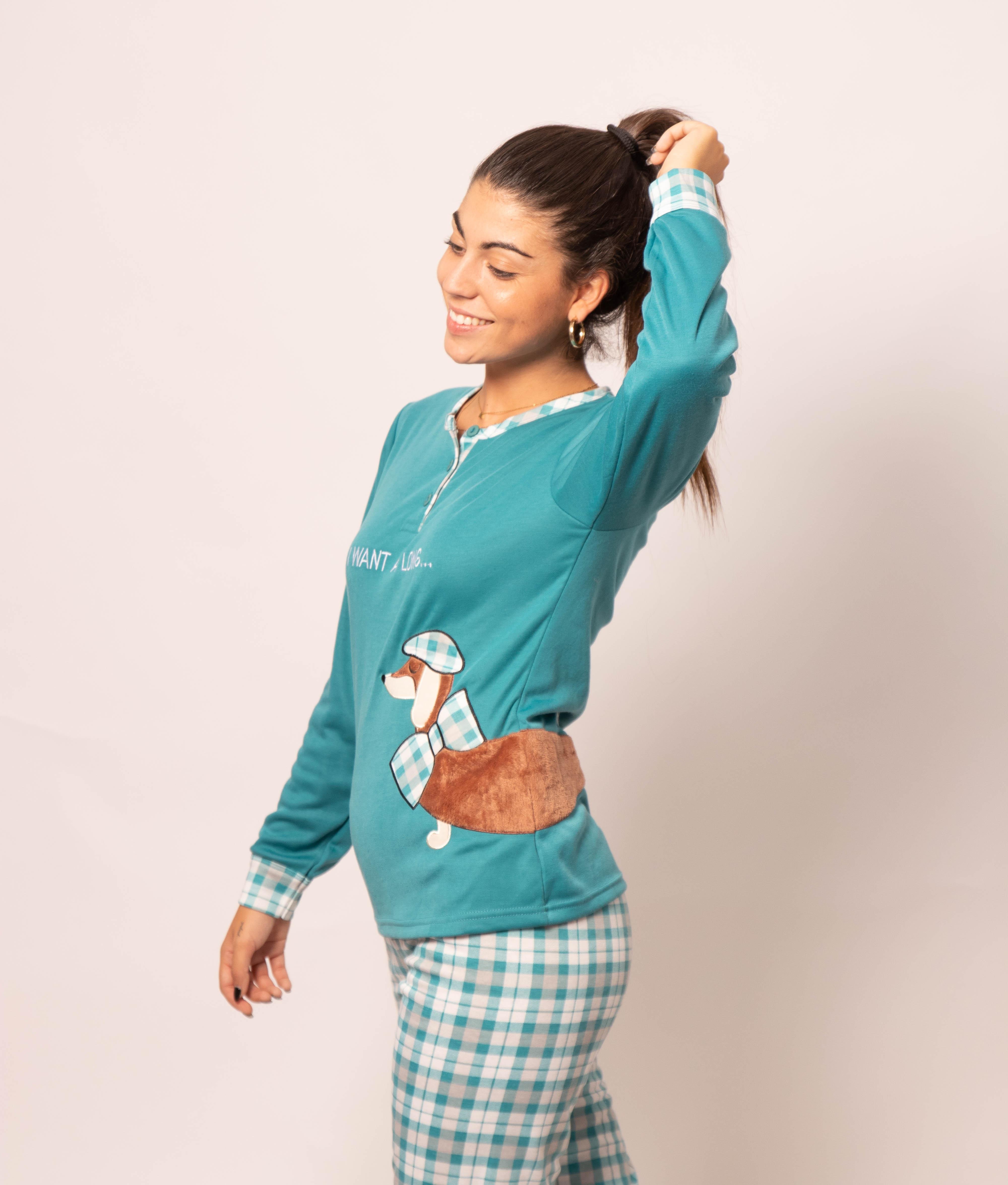 Pijama Holmos - Turquoise