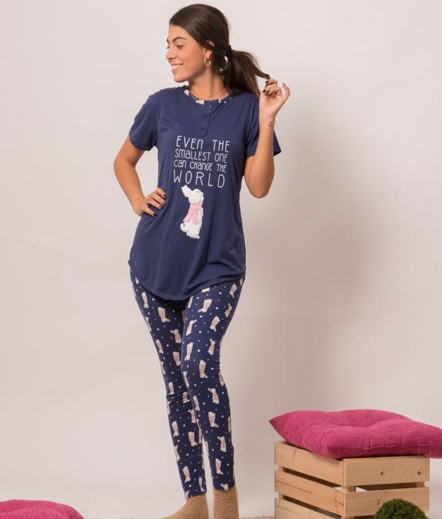 Pijama Sunco - Azul Marino
