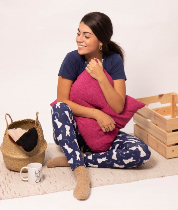 Pijama Tivas - Azul Marinho