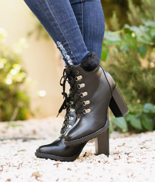 Low Boot Toscana - Black