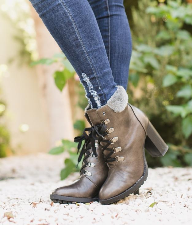 Boot Petite Toscana - Plomb