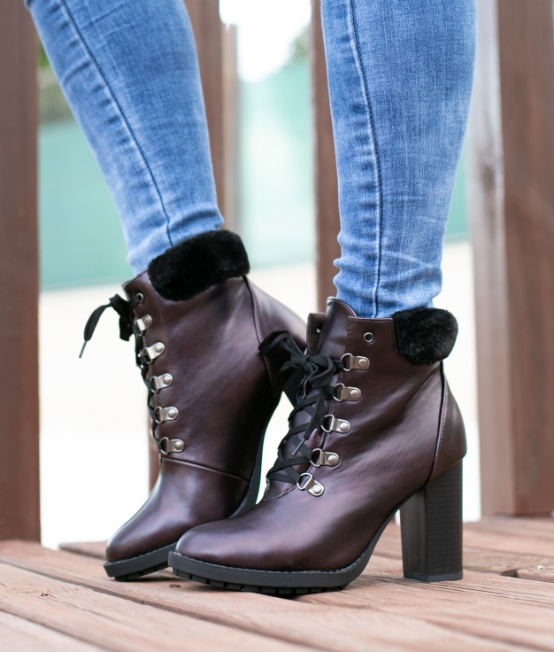 Low Boot Galicia - Maroon