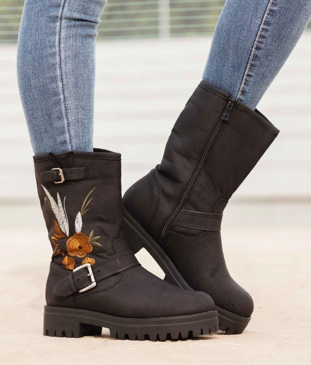 Low Boot Cintia - Black