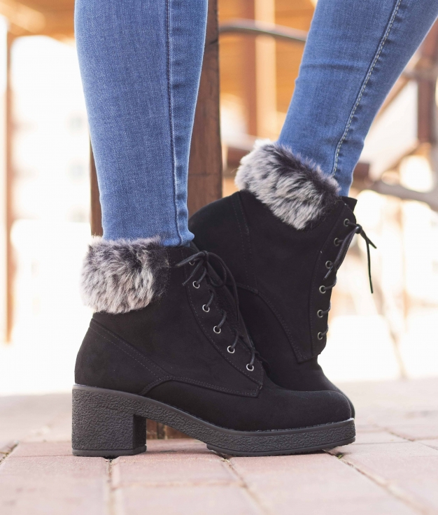 Low Boot Pirineos - Black