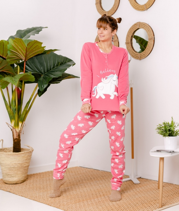 Pijama Lersa - Rosa