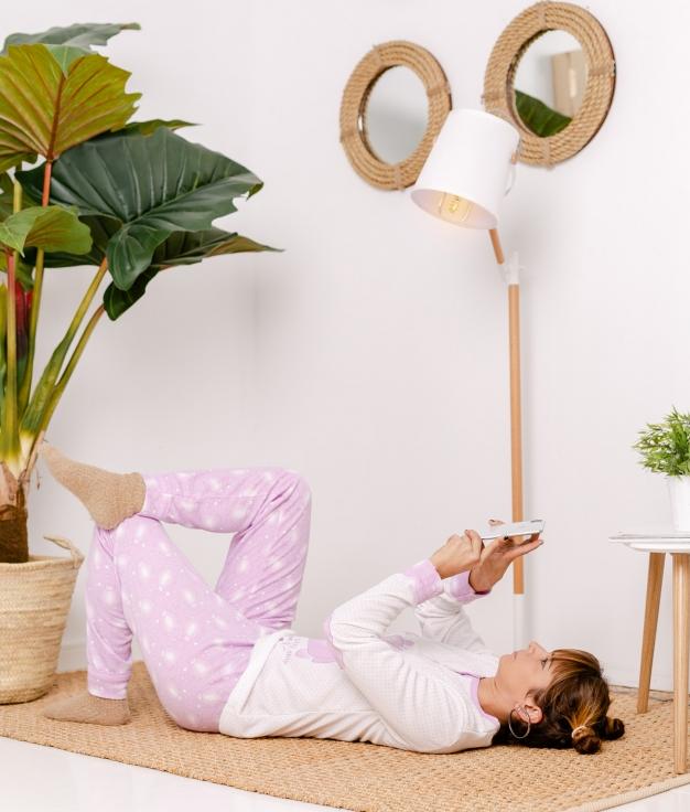 Pijama Riser - Lilas