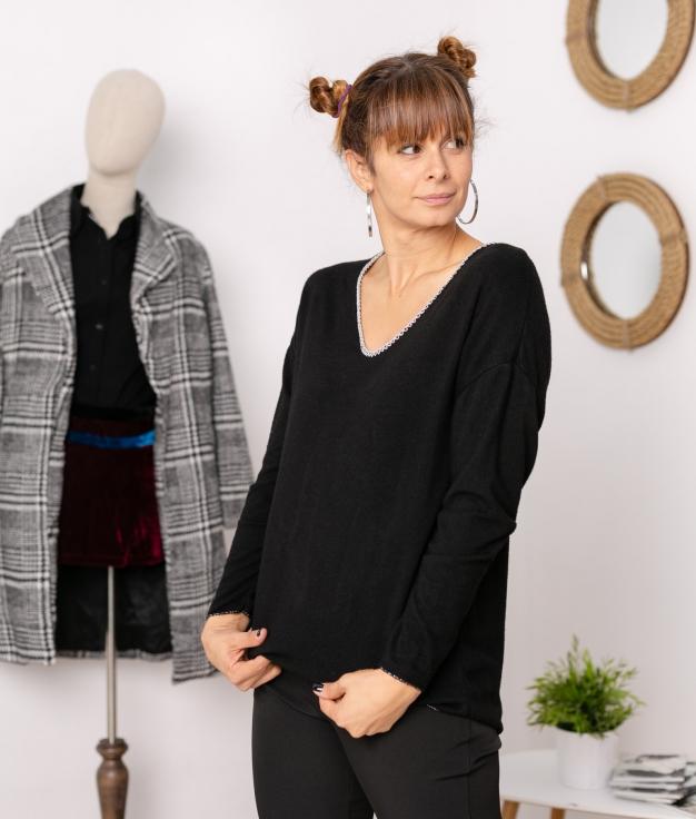 Camiseta Lakisa - Negro