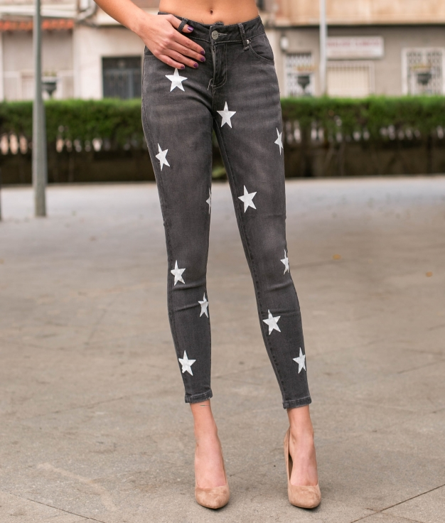 Pantaloni Seina - Grigio