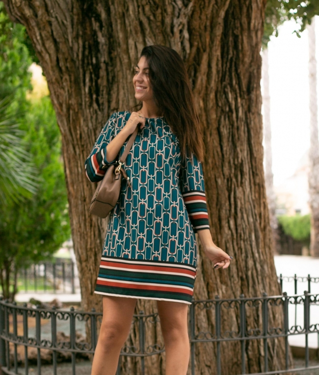 Dress Serico - Blue