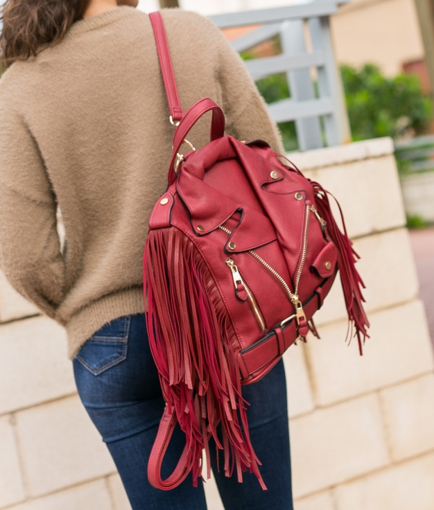 Backpack Montiboli - Red