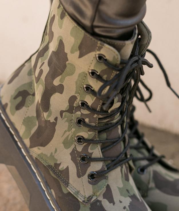 Low Boot Alowe - Green