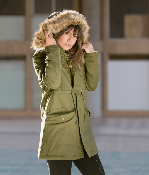 Coat Otmara - Green