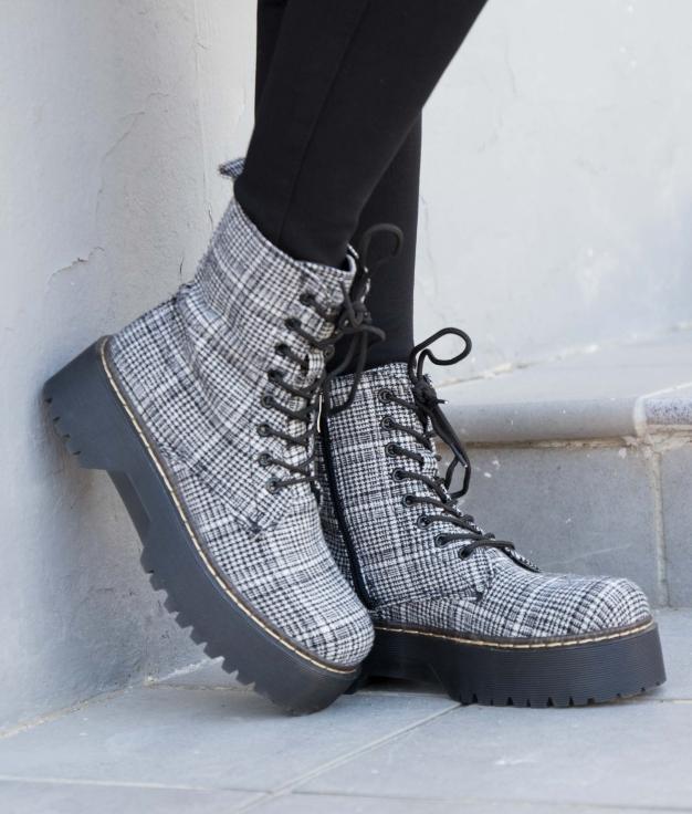 Low Boot Alowe - Black