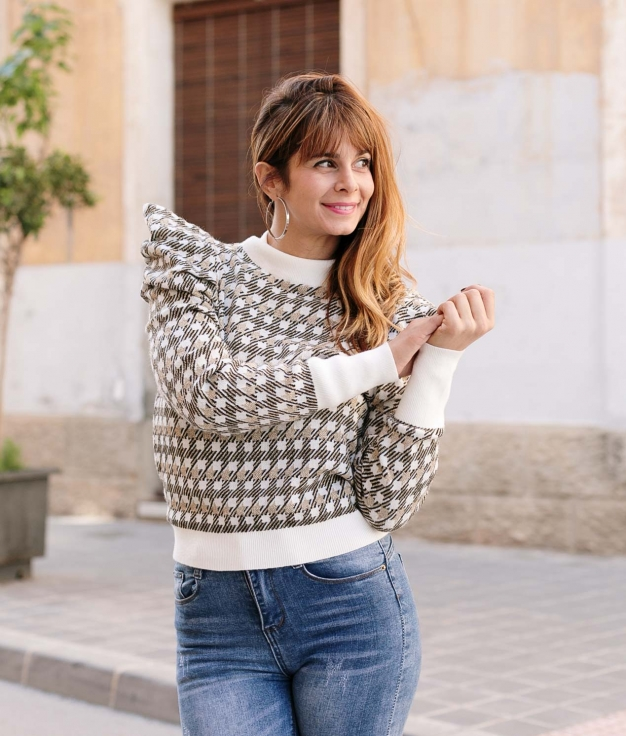 Sweater Chiale - White