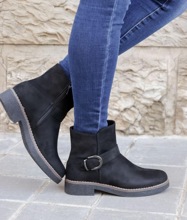 Low Boot Yusan - Black