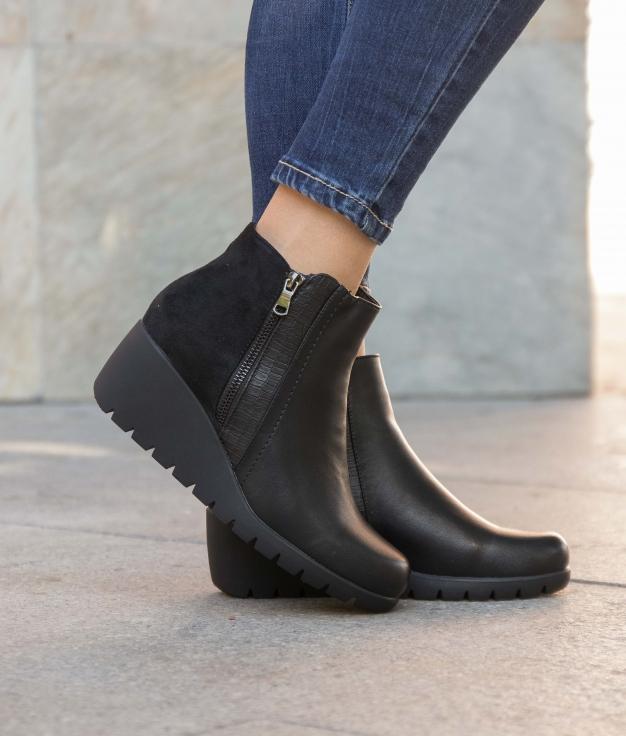 Low Boot Golene - Black