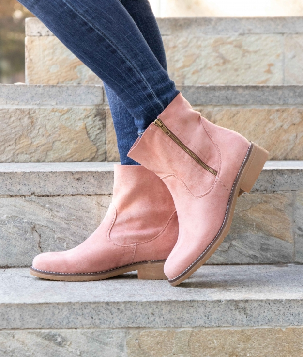 Low Boot Lomare - Pink