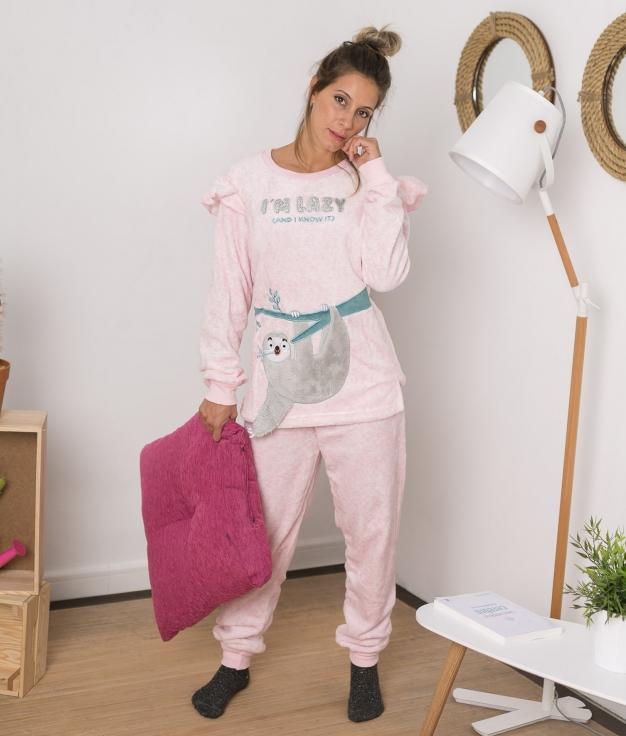 Pijama Latrex - Rosa