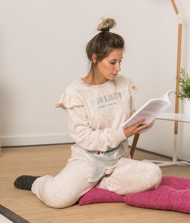 Pijama Latrex - Crudo