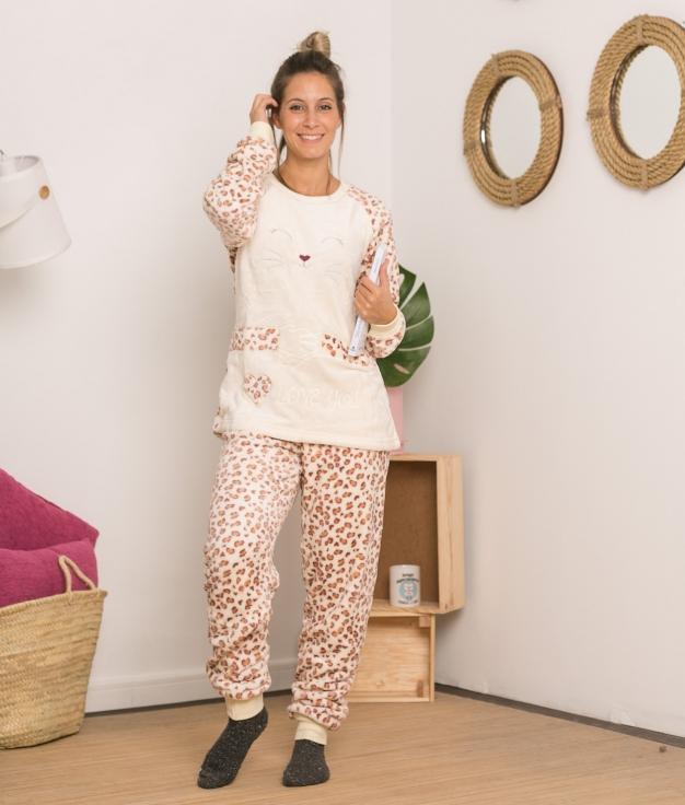 Pijama Sorje - Bege