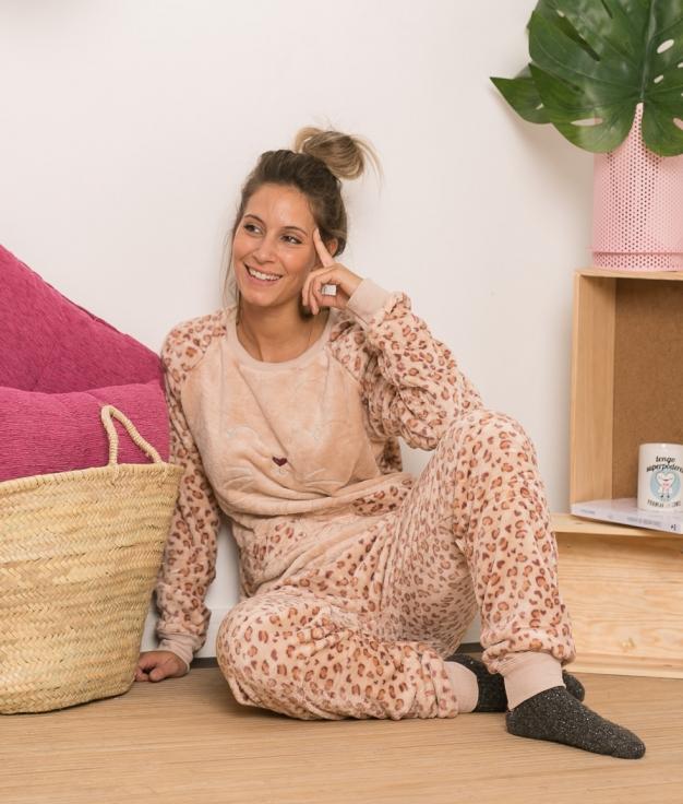 Pijama Sorje - Beige Tostado