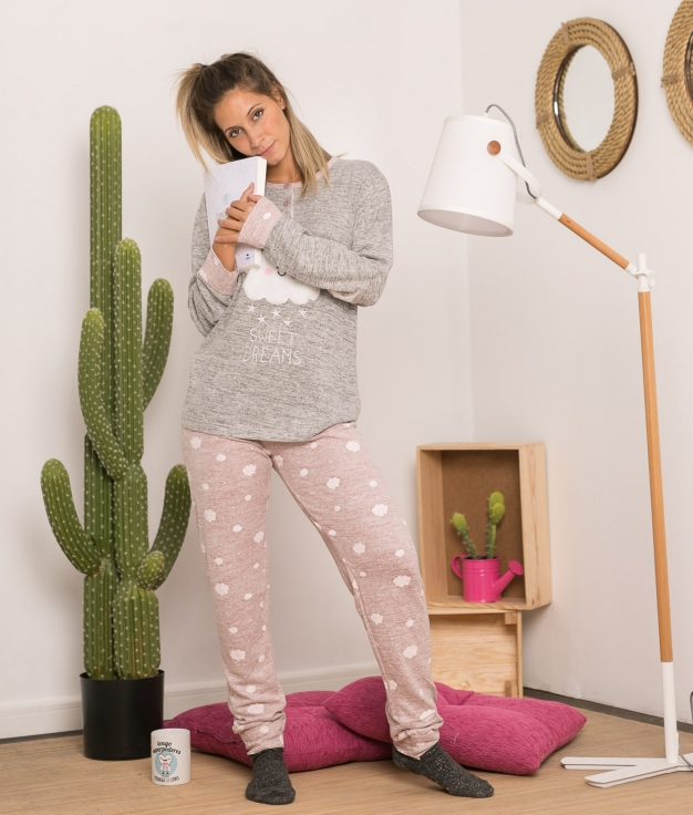 Pijama Anasium - Rosa