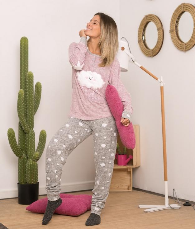 Pijama Anasium - Gris Oscuro