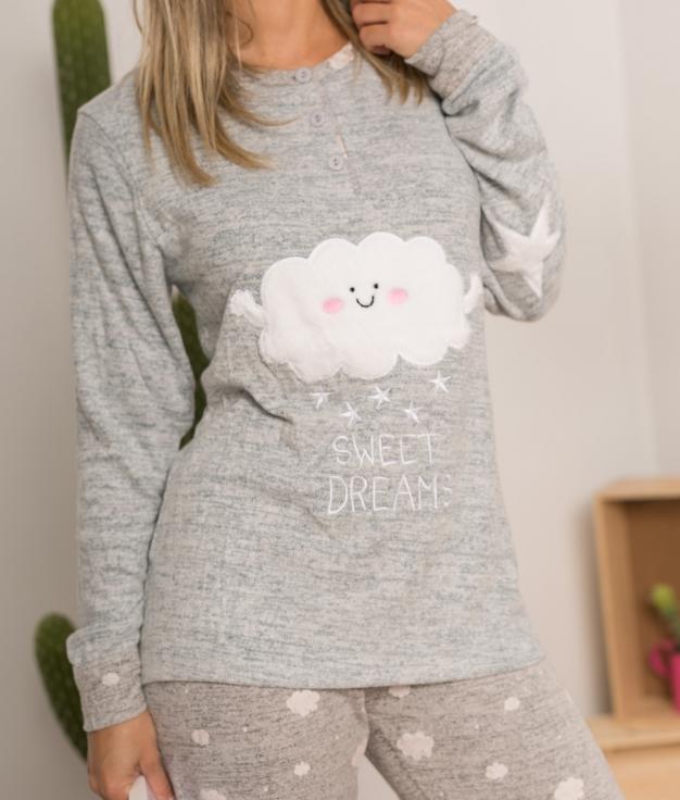 Pijama Anasium - Cinza