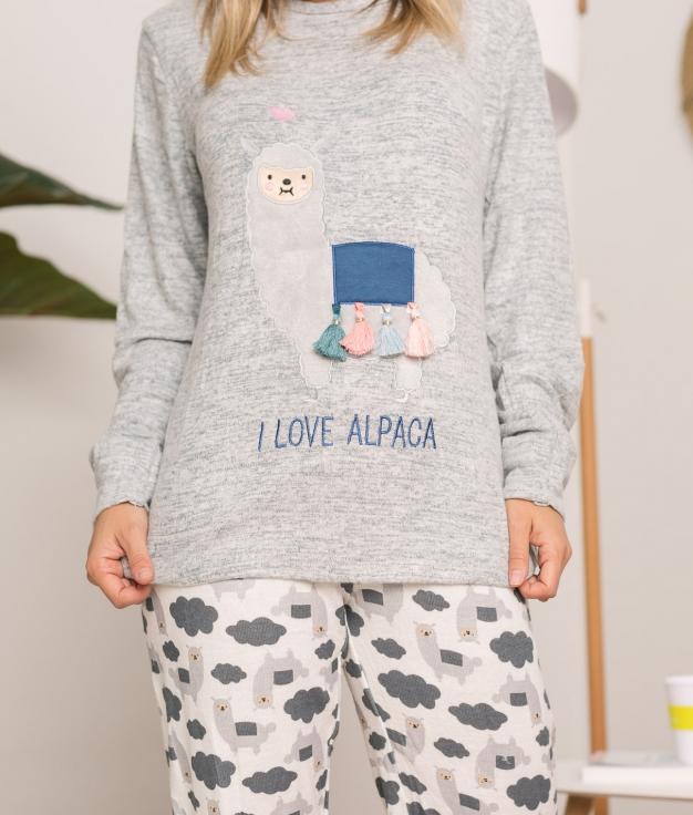 Pijama Gigale - Cinza