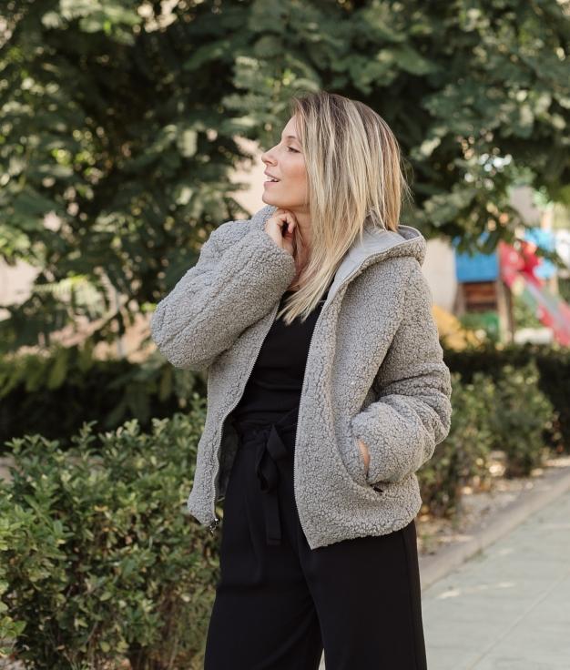 Jacket Reversible Yemen - Grey