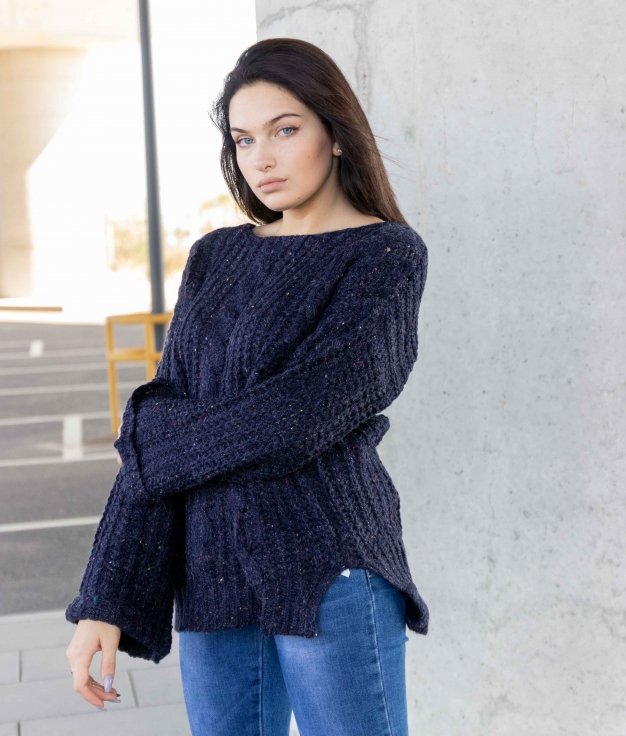 Sweater Ginoros - Blue
