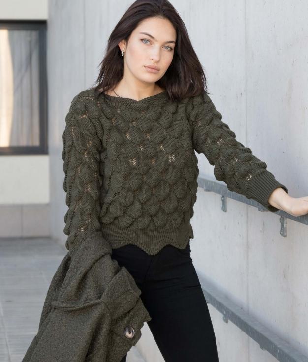 Sweater Wester - Khaki