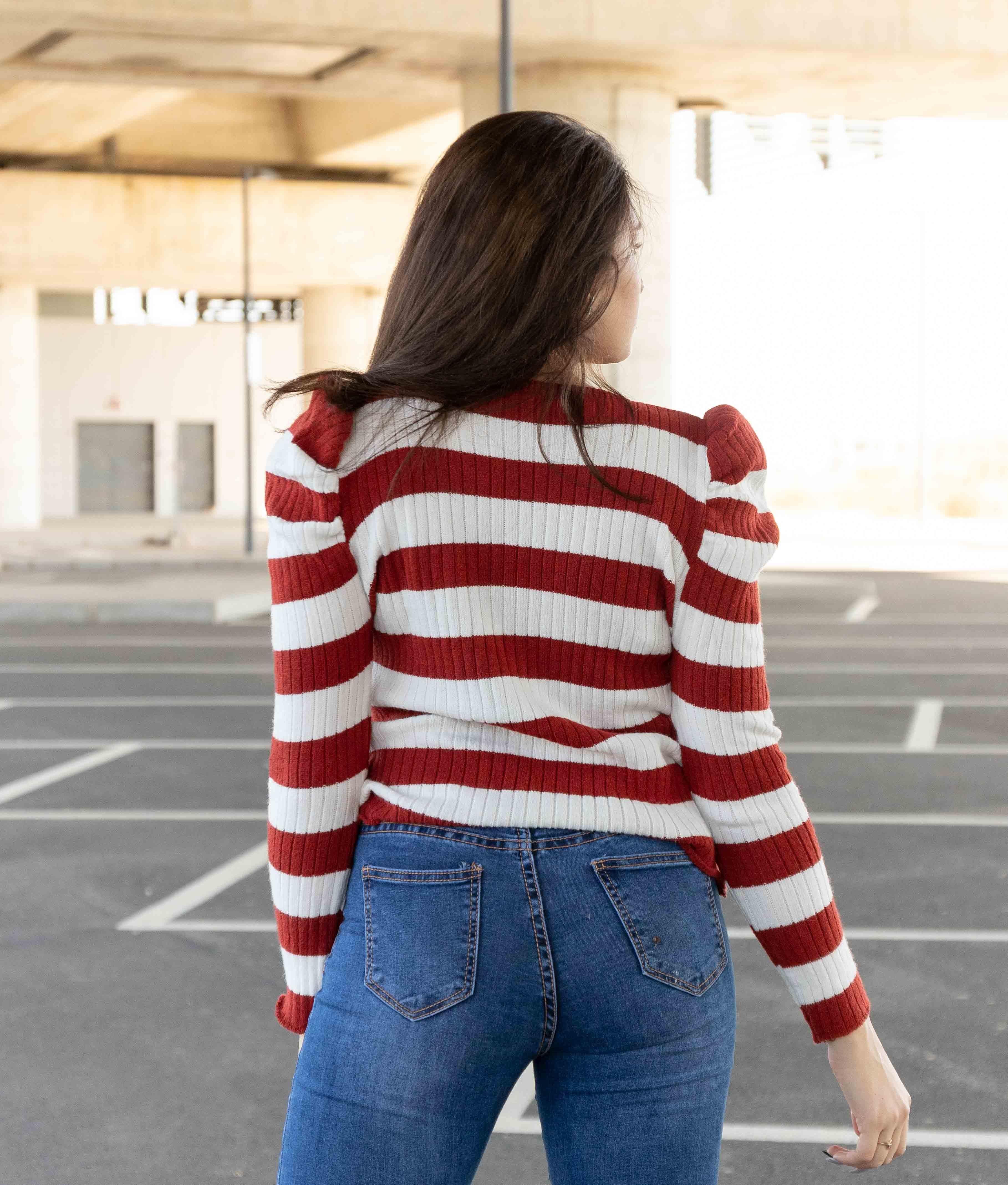Sweater Kewin - Brick