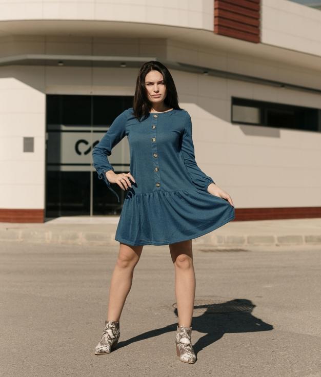 Vestido Solivel - Azul