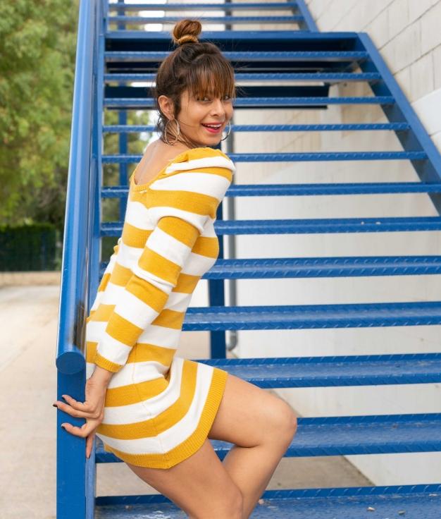 Vestido Bertukis - Amarillo