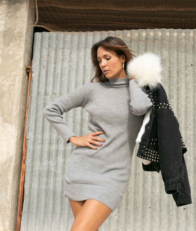 Dress Astron - Grey