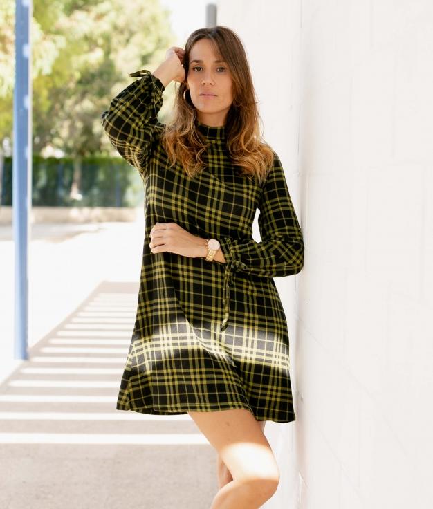 Dress Nevas - Green