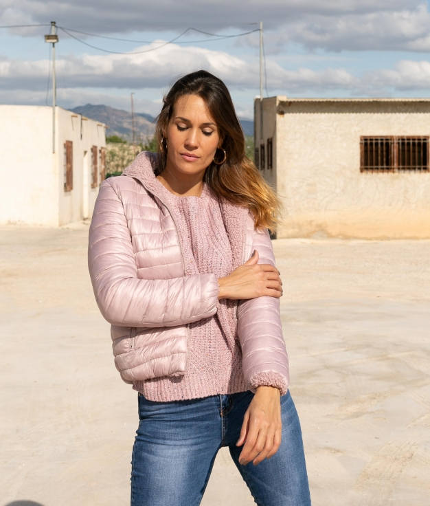 Jacket Reversible Yemen - Pink