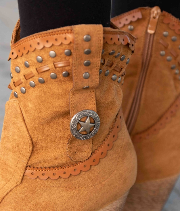 Low Boot Yiren - Camel