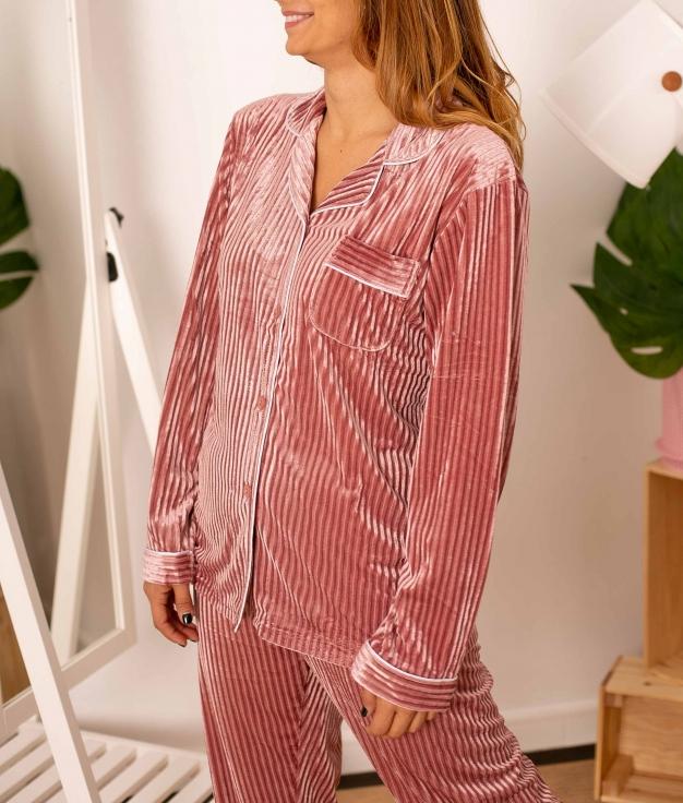 Pijama Tempole  - Rosa