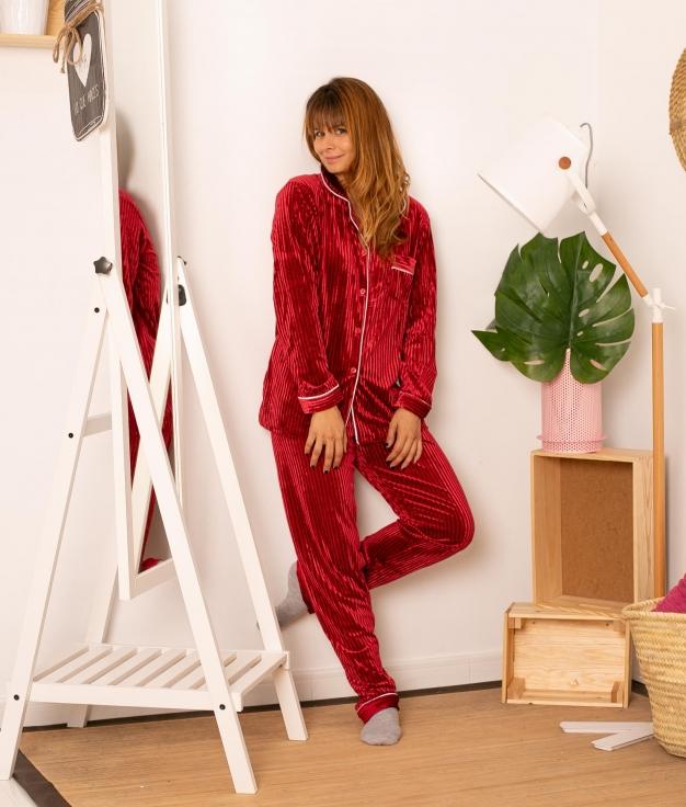 Pijama Tempole  - Vermelho