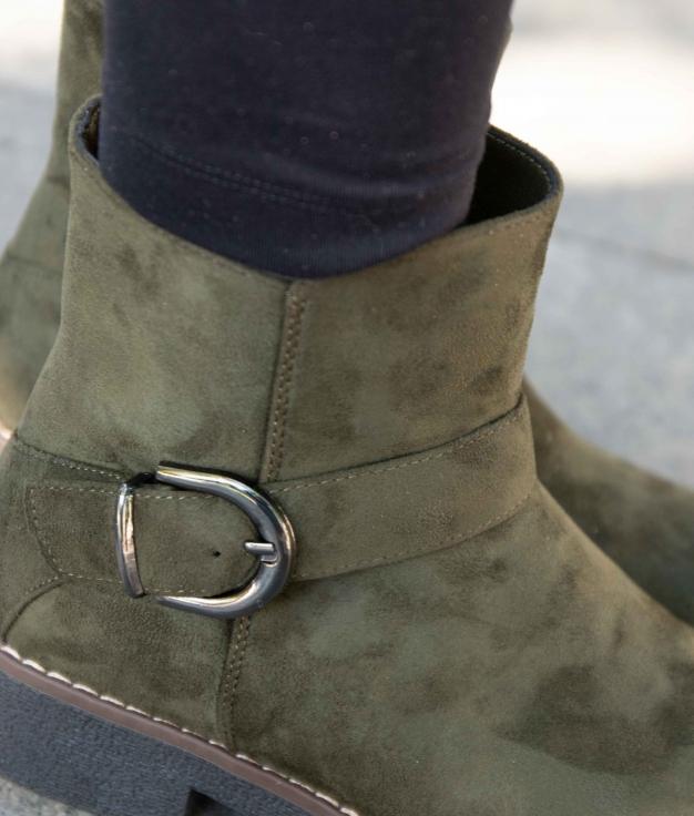 Low Boot Yusan - Green