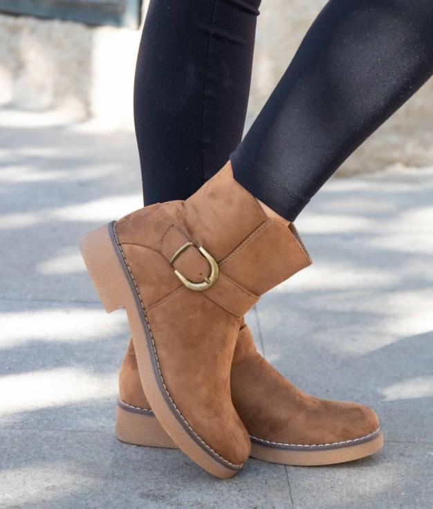 Low Boot Yusan - Khaki