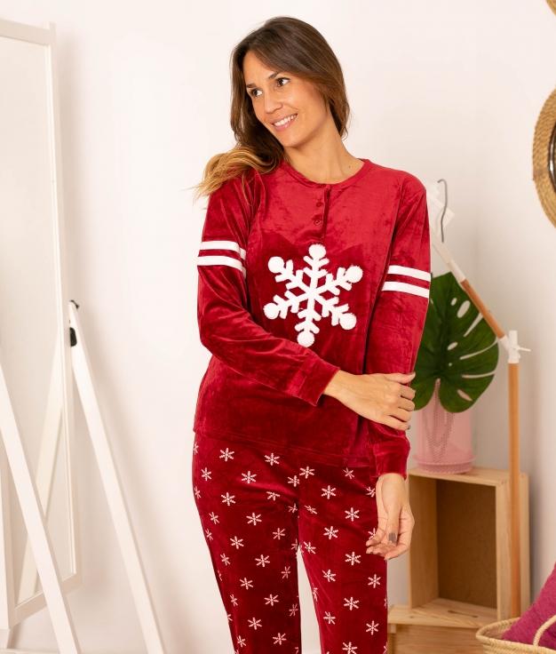 Pijama Losize - Rojo