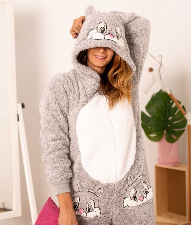 Mono Pijama Infral - Gris