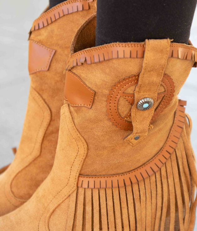 Low Boot Metorse - Camel